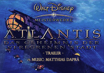 Atlantis-Trailer mit dapra-music